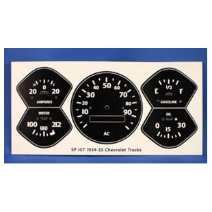Speedometer Gauge Refacing Decals Etc