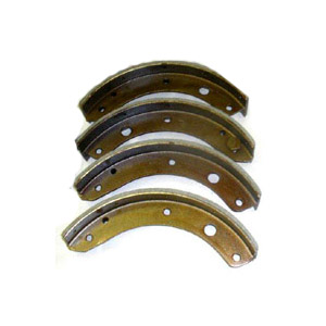 Brake Shoes With New Linings