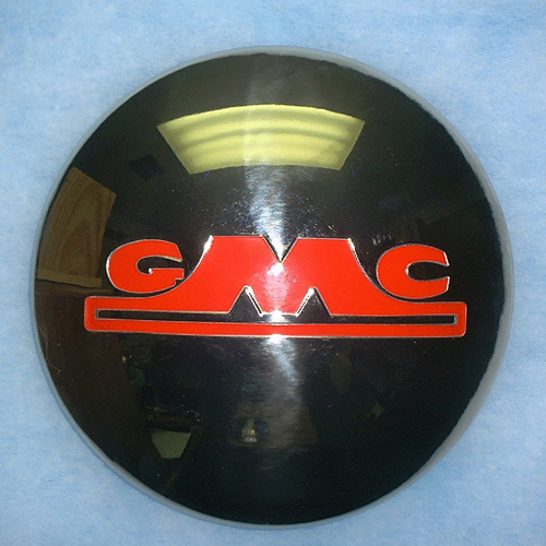 Hub Cap 1954-1955 GMC 1/2 Ton With Red Block Letters