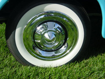 Late 1955-1958 Cameo Wheel Trim Ring Chevrolet and GMC